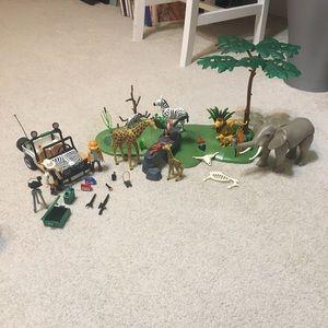 Playmobil safari set- complete!